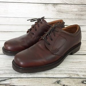 Johnston & Murphy Brown Lace Up Oxfords Shoes
